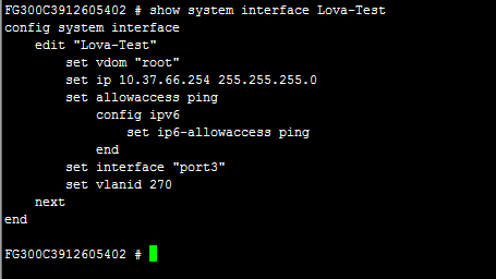 XGlobe - Fortigate - Creating rate limit on Interface